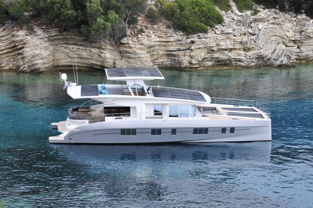 NedshipGroup's - Solarwave 64' - The World's First Luxury ZERO Emission Hybrid Yacht for Sale on AdamSea.com