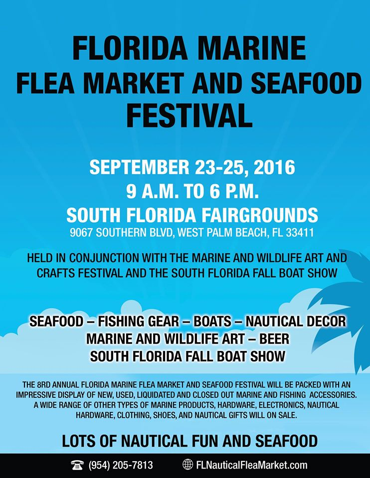 8th Annual Florida Marine Flea Market and Seafood Festival 2016