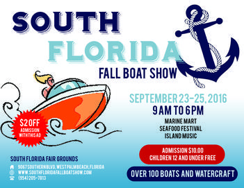 South Florida Fall Boat Show 2016